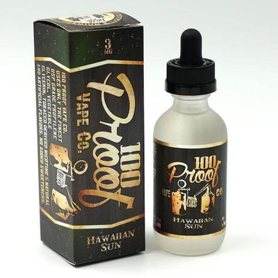 Hawaiian Sun - 100 Proof Vape Co. E Liquid