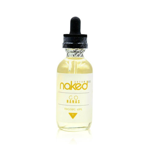 Go Nanas - Naked 100 Cream E Liquid