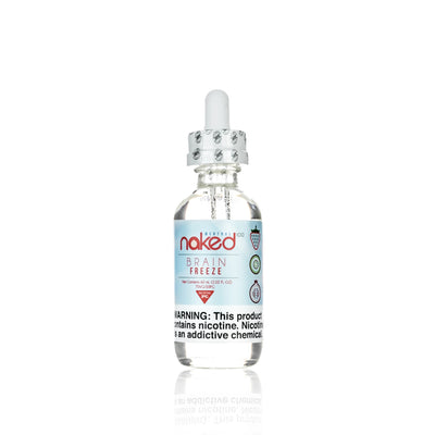 Brain Freeze E Liquid - Naked 100 Menthol E Liquid