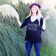 taco tuesday _ ladies tees_ sun lovin roots