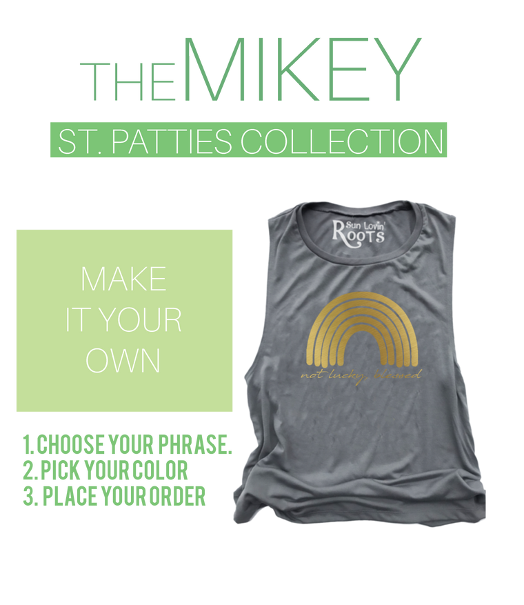 'MAKE IT YOUR OWN': The Mikey
