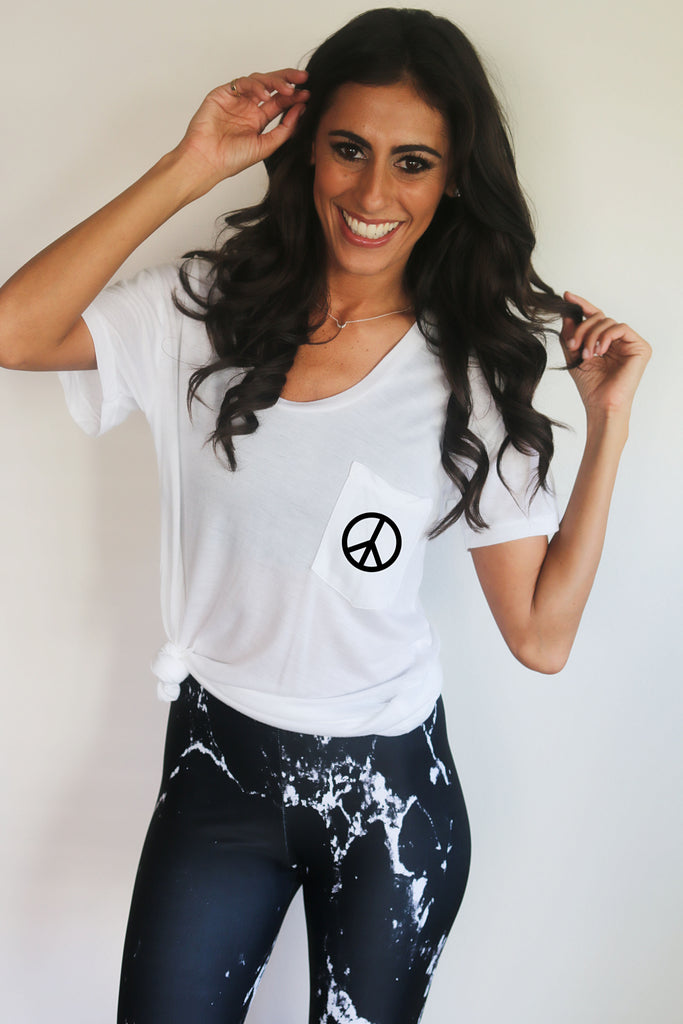 'The Peace' Wesley Tee