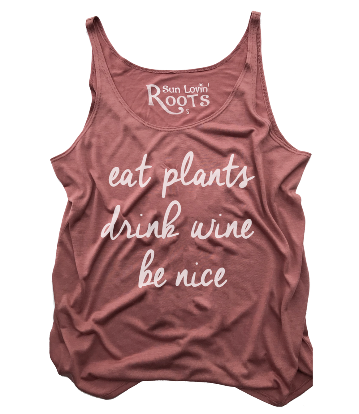 'Be Nice' Willow Slouchy Tank