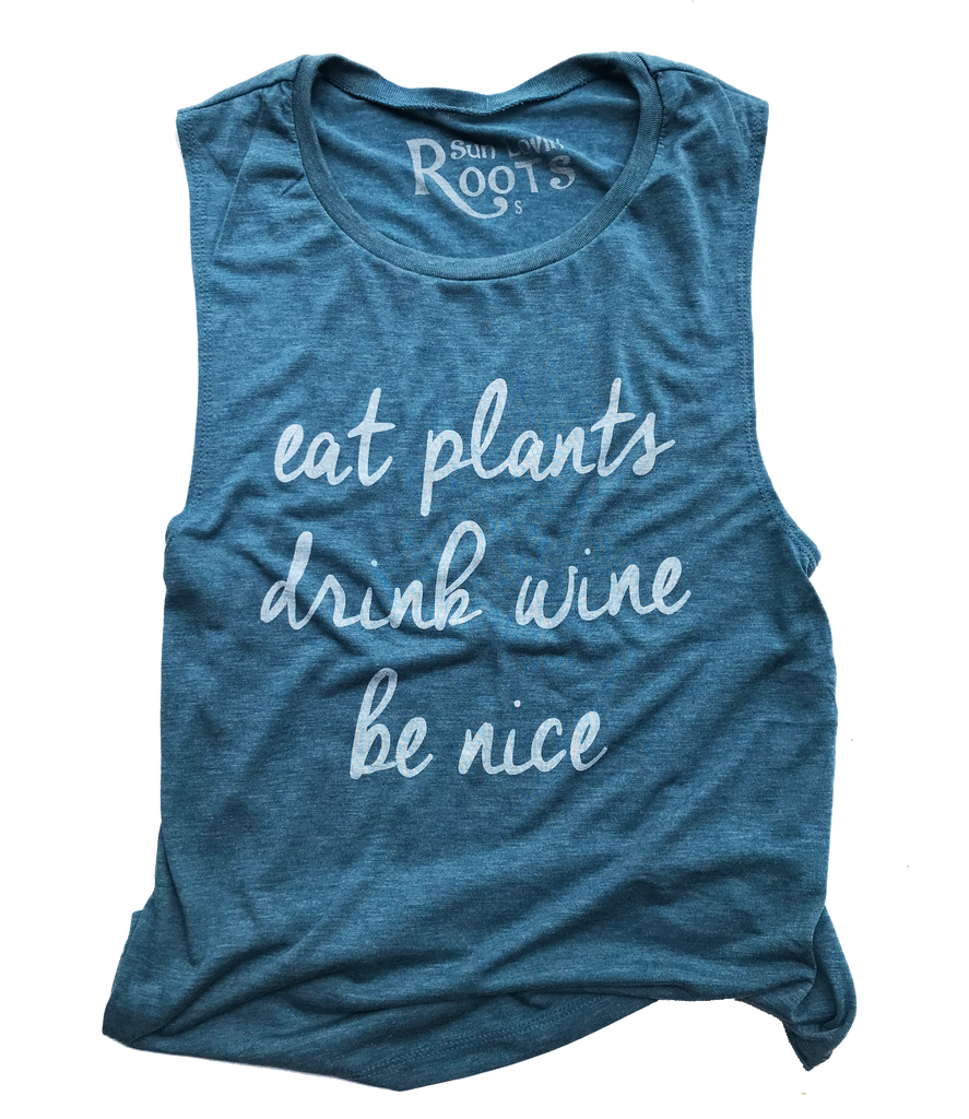 The Mikey Muscle Tank: Be Nice