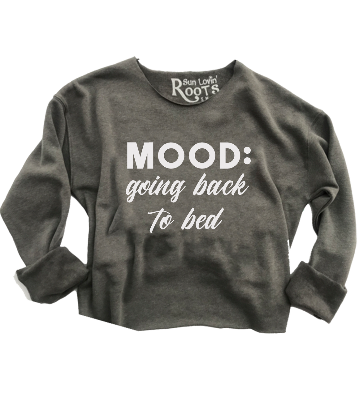 'Going Back to Bed' The Raglan
