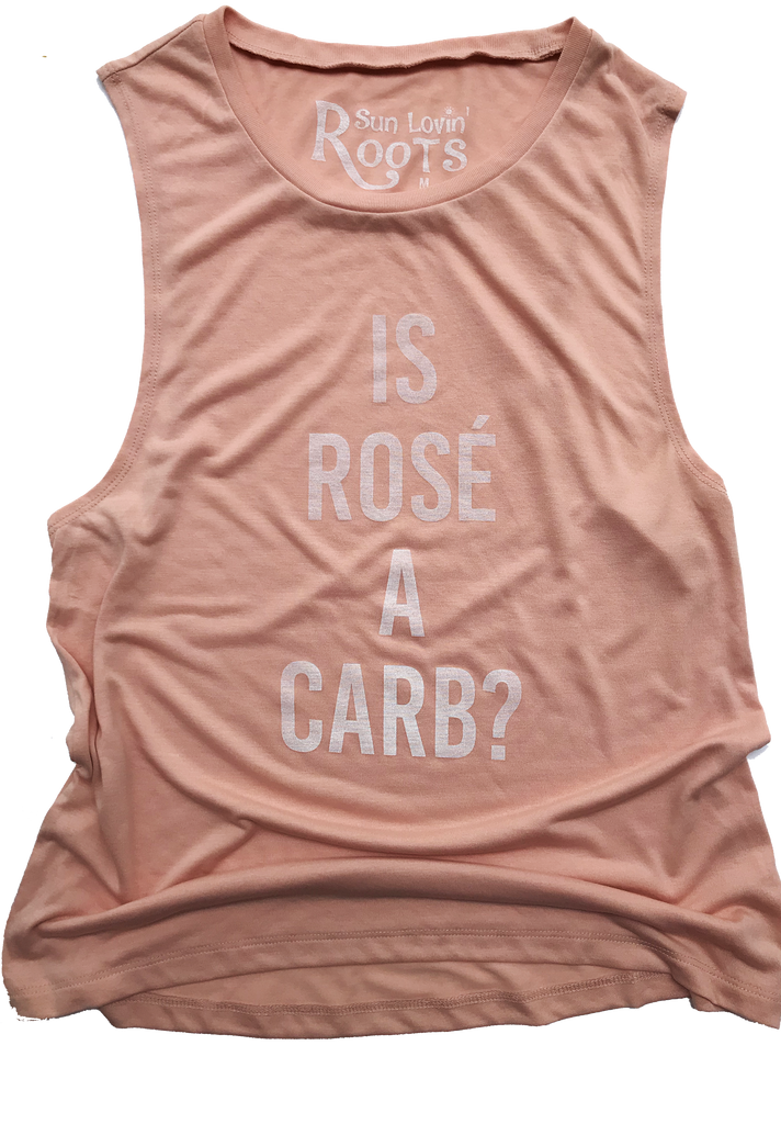 'Is Rosé A Carb?' Mikey Muscle Tank