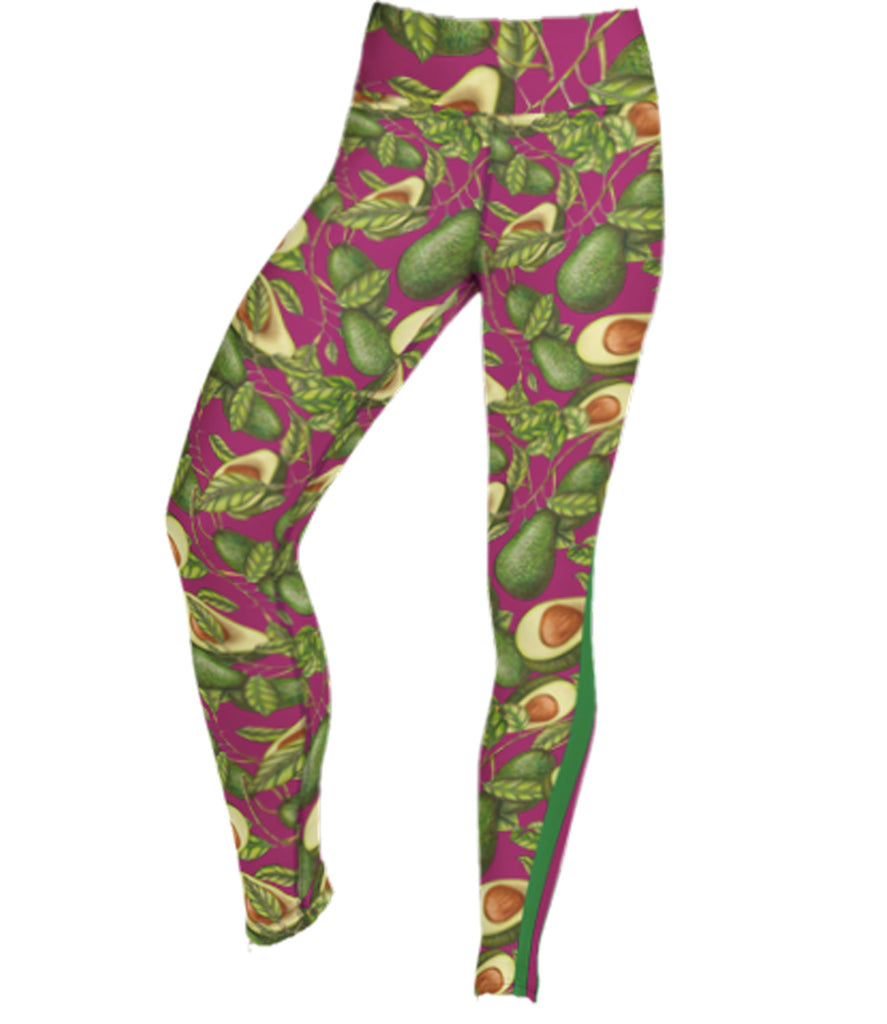 The Frankie Legging: Avo Vine