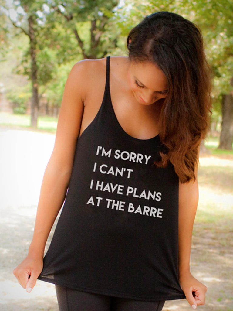 'Plans At The Barre' Willow Slouchy Tank