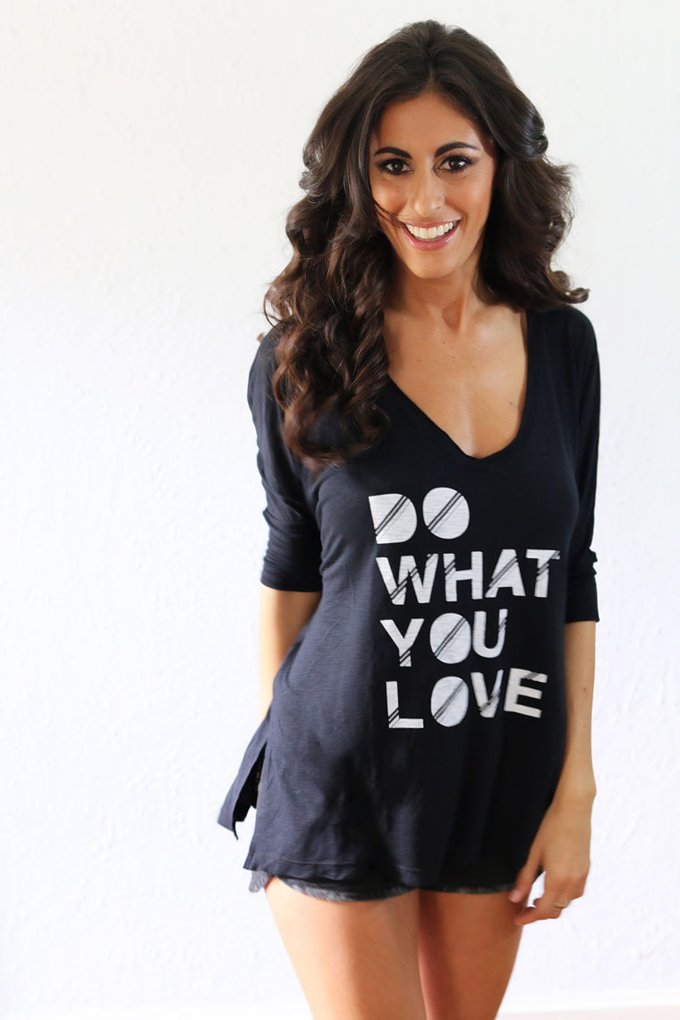'Do What You Love' Gracie Tee