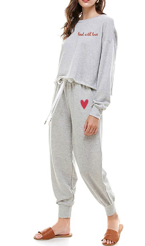 'Lead With Love' Jogger  Set