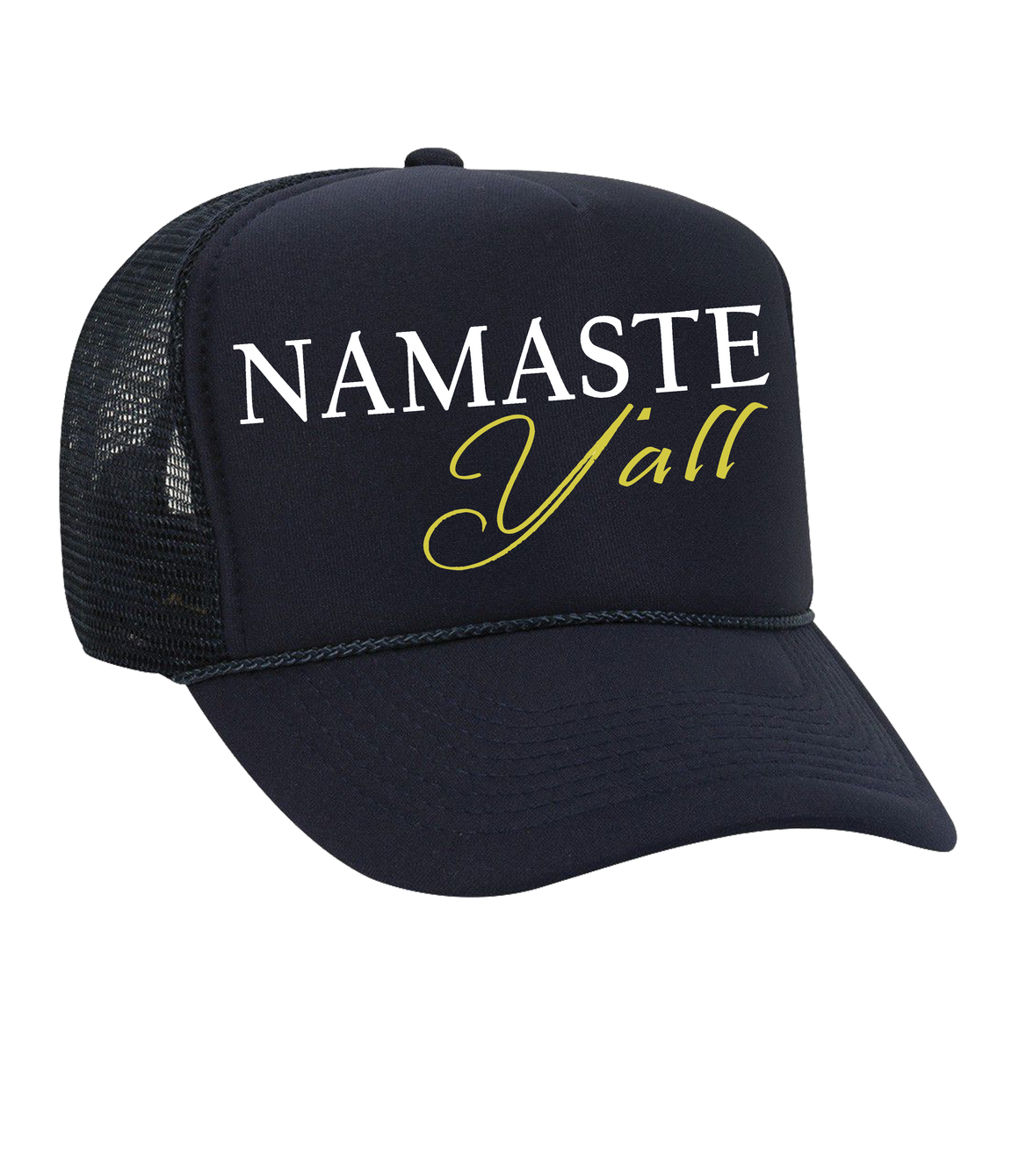 The Dolly Trucker Hat: Namaste Y'all