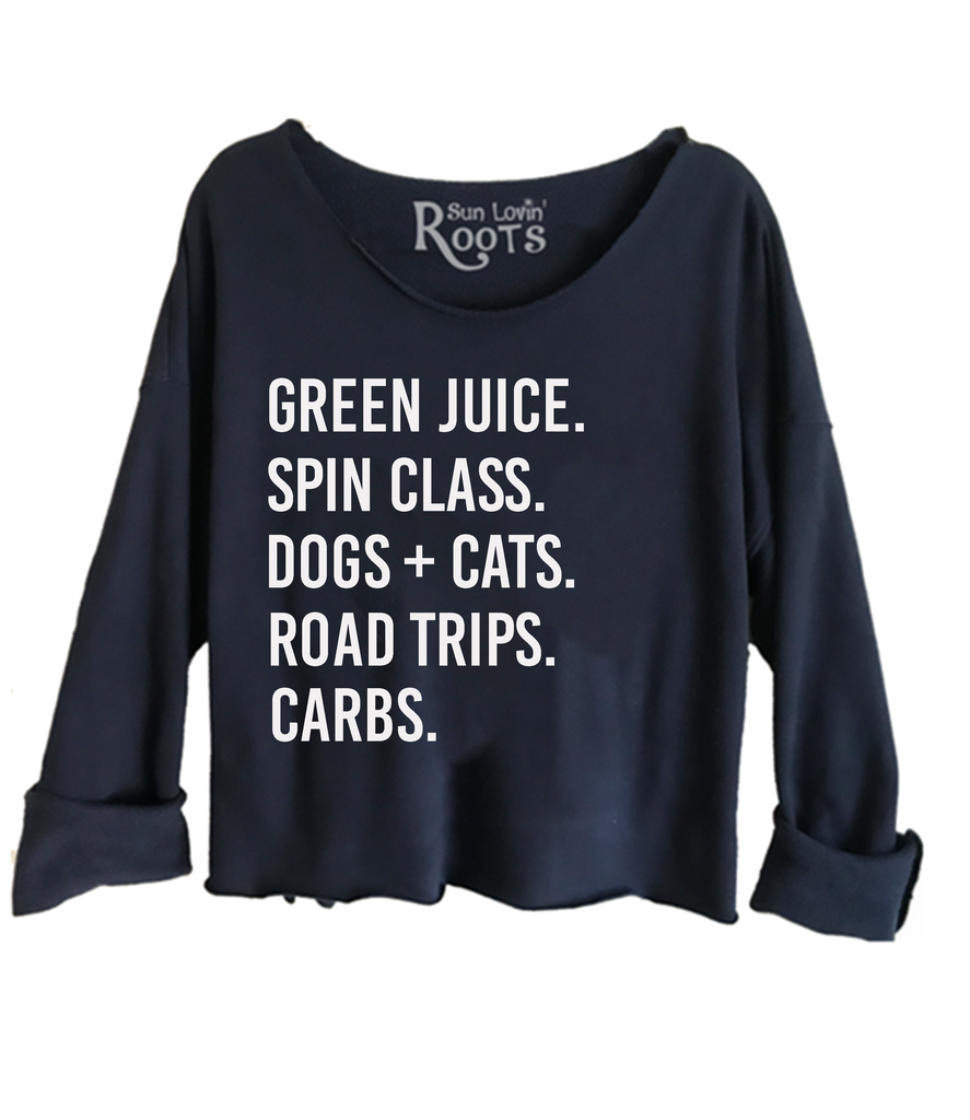 5 FAVE'S PERSONALIZED RAGLAN