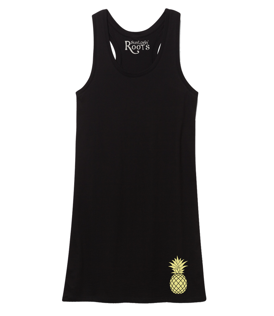 The Tauli Tank Dress: Pineapple Lovin'