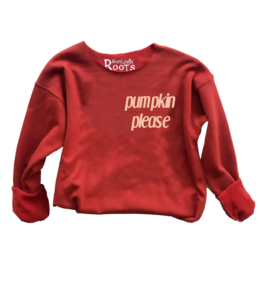 'Pumpkin Please' The Raglan