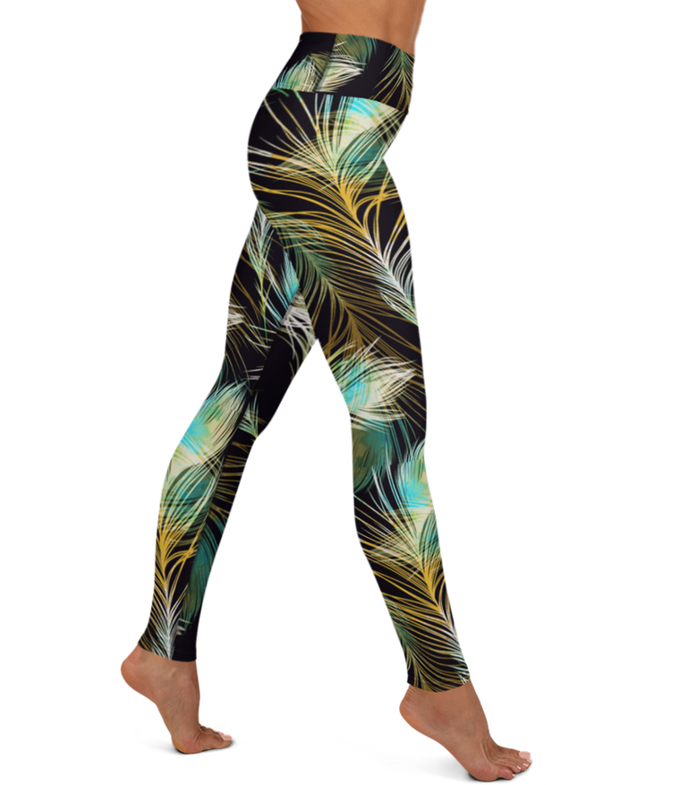 The Frankie Legging: Safari Palms