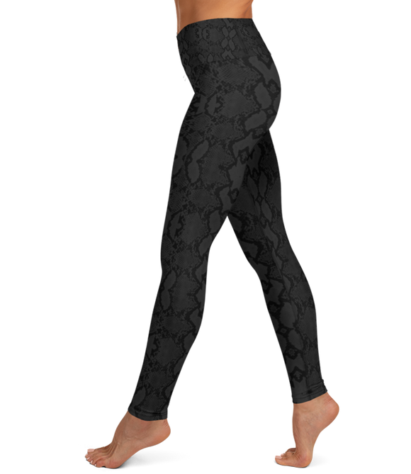 The Frankie Legging: Snake-A-Thon (Black)