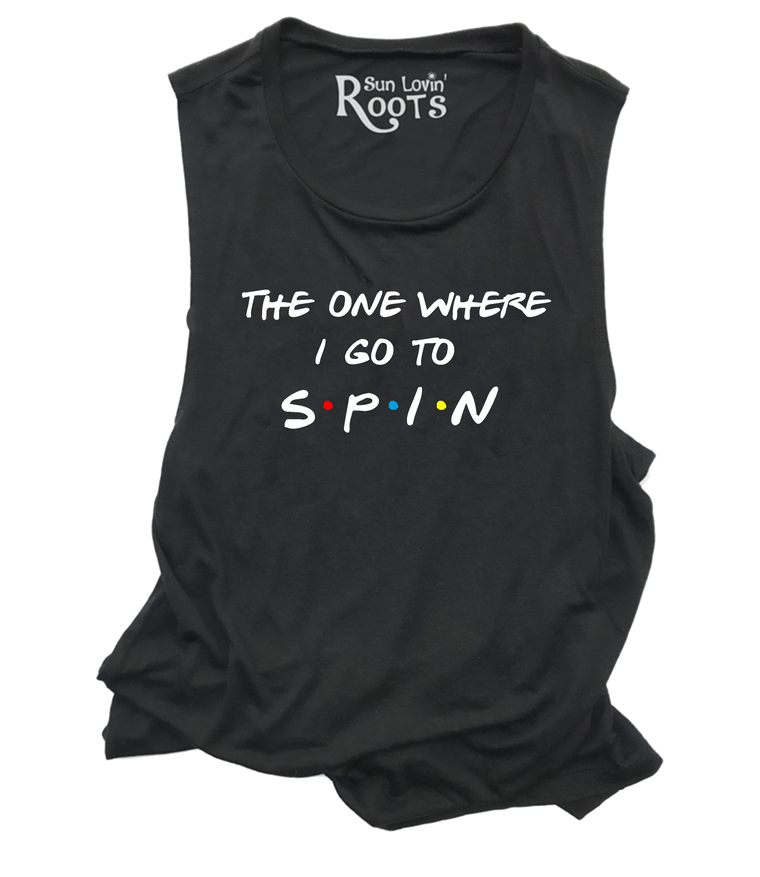 'The Spin One' The Mikey Muscle Tank