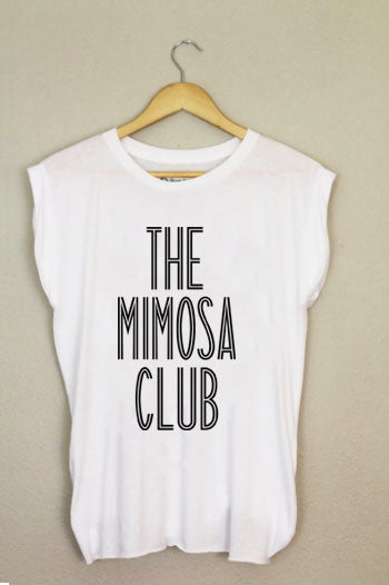 'The Mimosa Club' Miley Muscle Tee