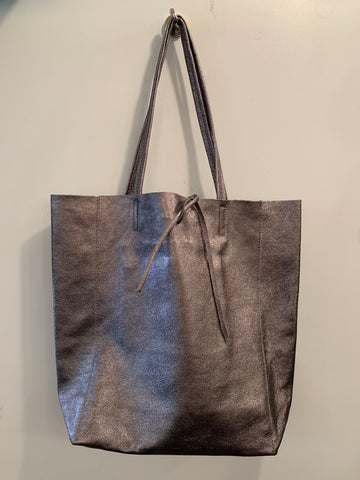 LEDERTASCHE - SHOPPER