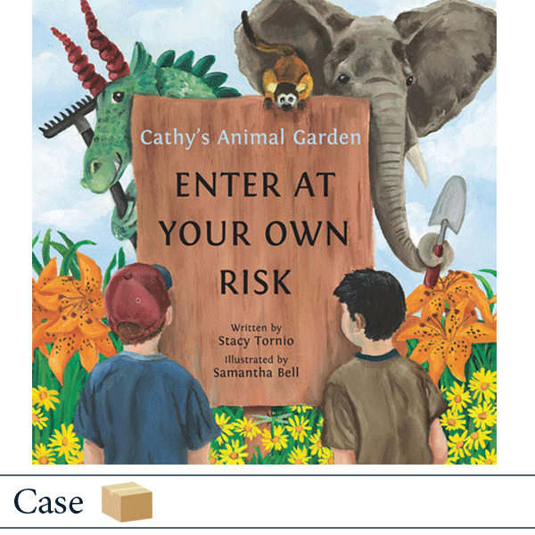 Case of 50 Cathy's Animal Garden by Stacy Tornio, illustrated by Samantha Bell