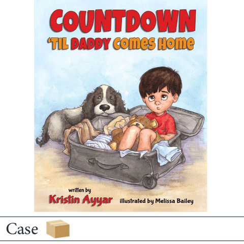 Case of 24 Countdown til Daddy Comes Home by Kristin Ayyar