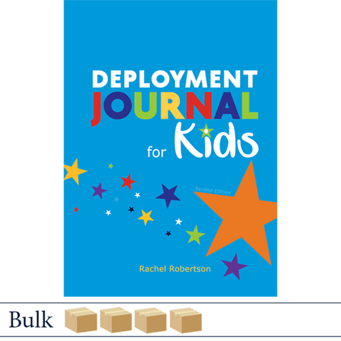 Deployment Journal for Kids (Second Edition) by Rachel Robertson BULK