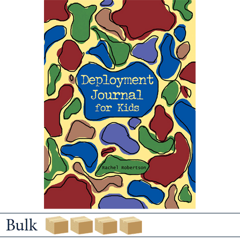 Bulk 200 Deployment Journal for Kids by Rachel Robertson