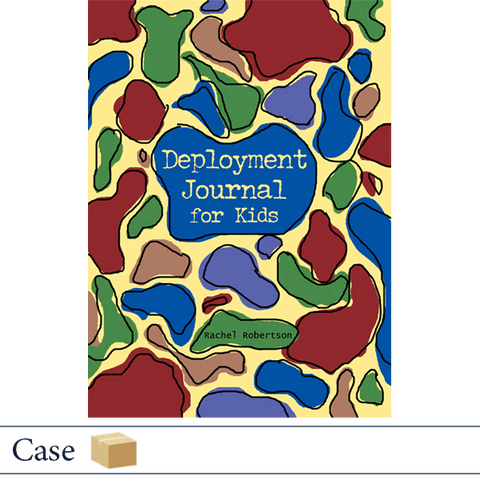 Case of 50 Deployment Journal for Kids by Rachel Robertson