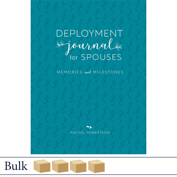 Bulk 120 Deployment Journal for Spouses by Rachel Robertson