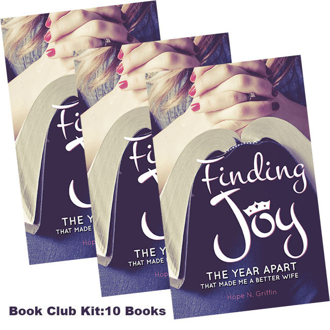Finding Joy by Hope N Griffin BOOK CLUB