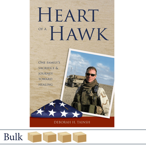 Bulk 128 books Heart of a Hawk by Deborah Tainsh.