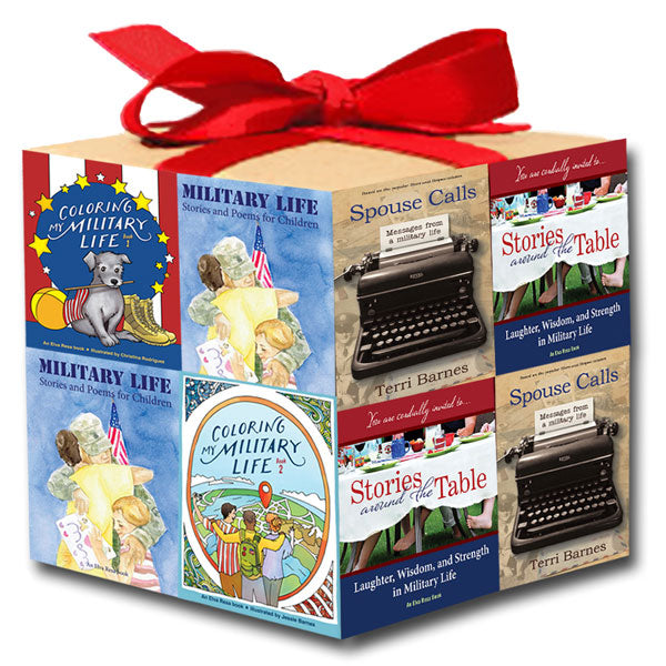 Bulk Holiday Special 3: Gifts for Military Families (50 Books)