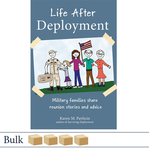 Bulk 128 books Life After Deployment by Karen Pavlicin