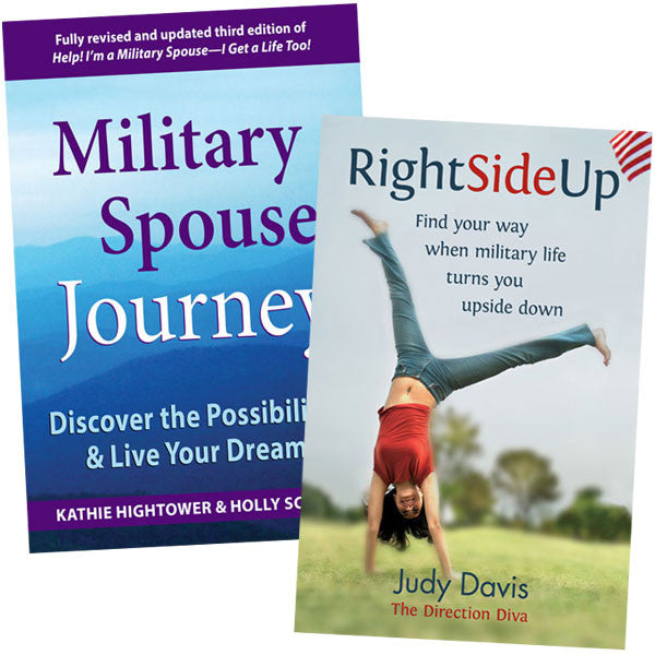 Military Spouse Dream Pack; Military Spouse Journey and Right Side Up