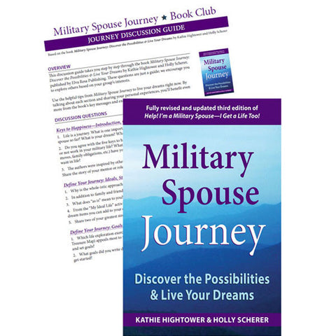 Military Spouse Journey by Kathie Hightower and Holly Scherer BOOK CLUB
