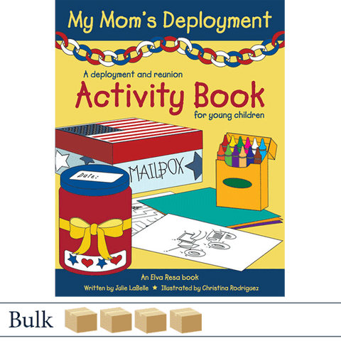 Bulk 200 books My Mom's Deployment by Julie LaBelle and Christina Rodriguez