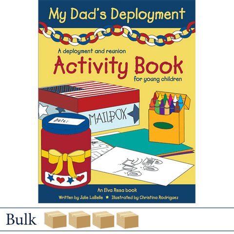 Bulk 200 books MyDad's Deployment by Julie LaBelle and Christina Rodriguez