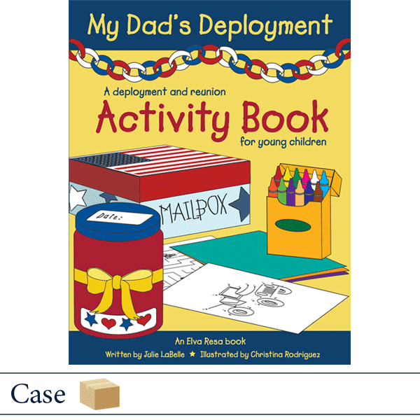 Case of 50 My Dad's Deployment by Julie LaBelle and Christina Rodriguez