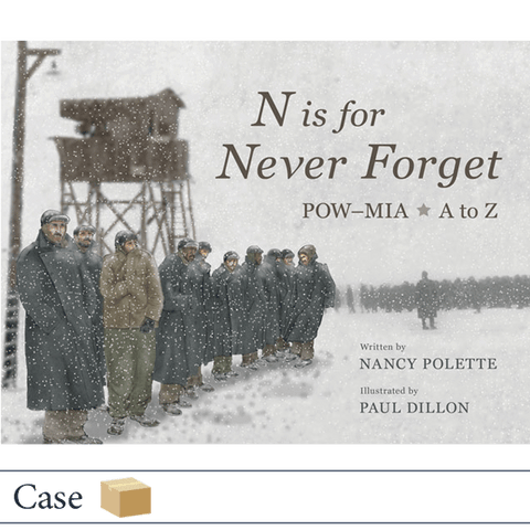 Case of 32 N is for Never Forget by Nancy Polette, illustrated by Paul Dillon