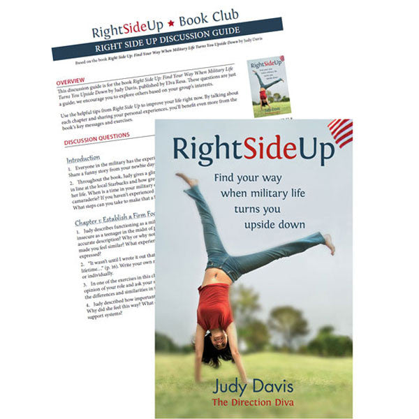 Right Side Up by Judy Davis BOOK CLUB