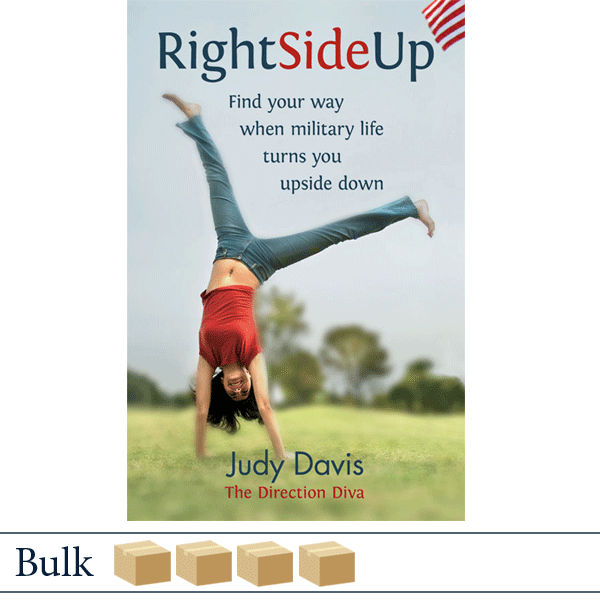 Bulk 200 books Right Side Up by Judy Davis
