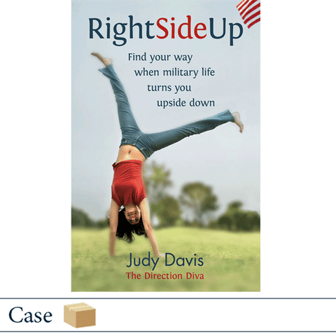 Case of 50 Right Side Up by Judy Davis
