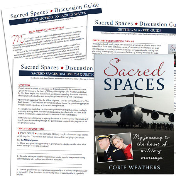 Sacred Spaces by Corie Weathers BOOK CLUB