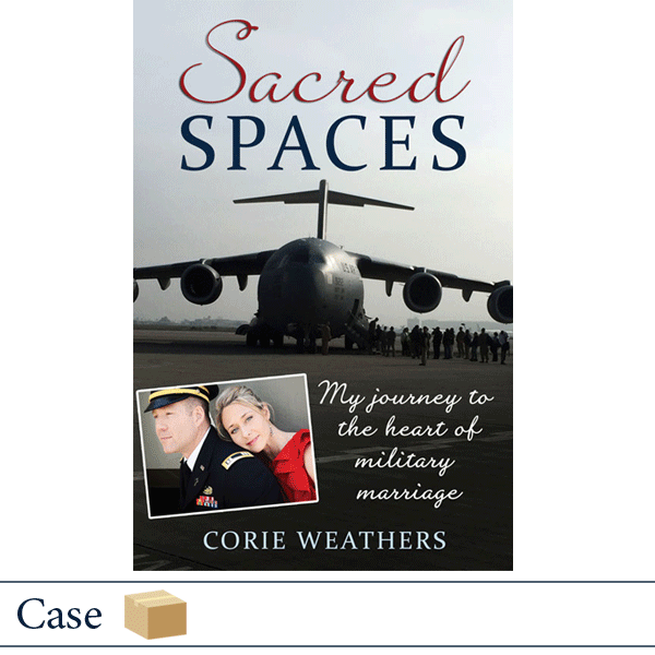 Case of 50 Sacred Spaces by Corie Weathers. Published by Elva Resa
