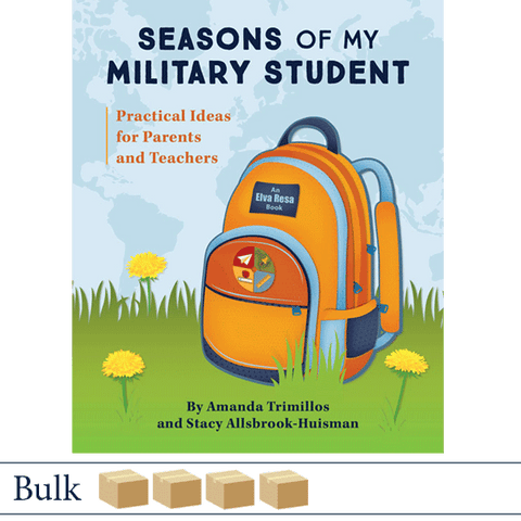 Bulk 200 Seasons of My Military Student by Amanda Trimillos and Stacy Allsbrook-Huisman. ©2018 Elva Resa Publishing