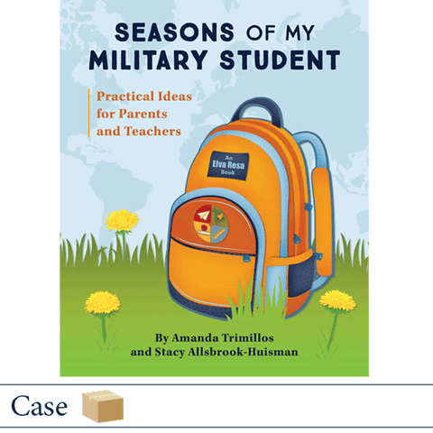 Case of 50 Seasons of My Military Student by Amanda Trimillos and Stacy Allsbrook-Huisman. ©2018 Elva Resa Publishing