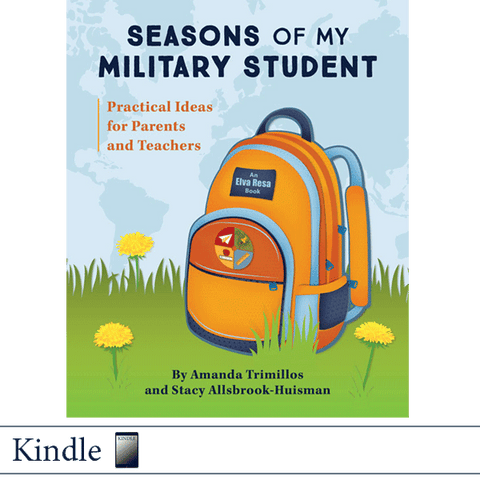 Kindle Seasons of My Military Student by Amanda Trimillos and Stacy Allsbrook-Huisman. ©2018 Elva Resa Publishing