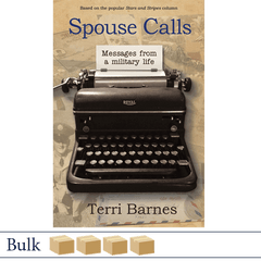 Bulk 200 Spouse Calls Messages From a Military Life by Terri Barnes