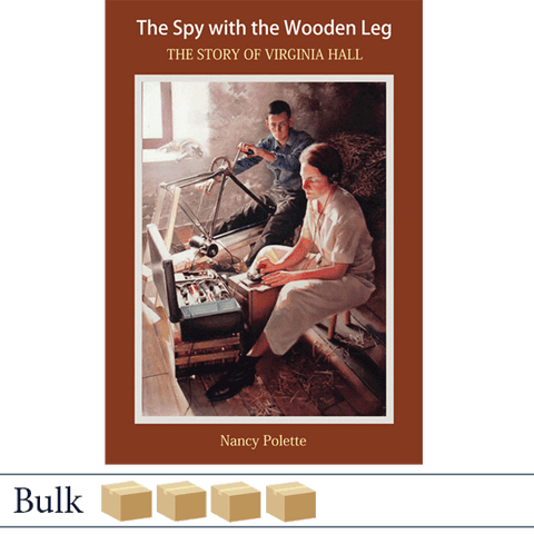 Bulk 200 The Spy With the Wooden Leg by Nancy Polette