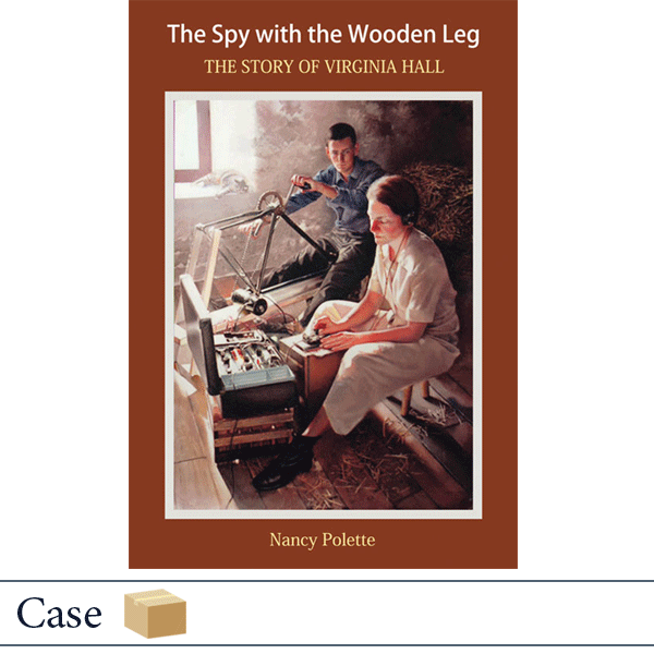 Case of 50 paperback The Spy With the Wooden Leg by Nancy Polette
